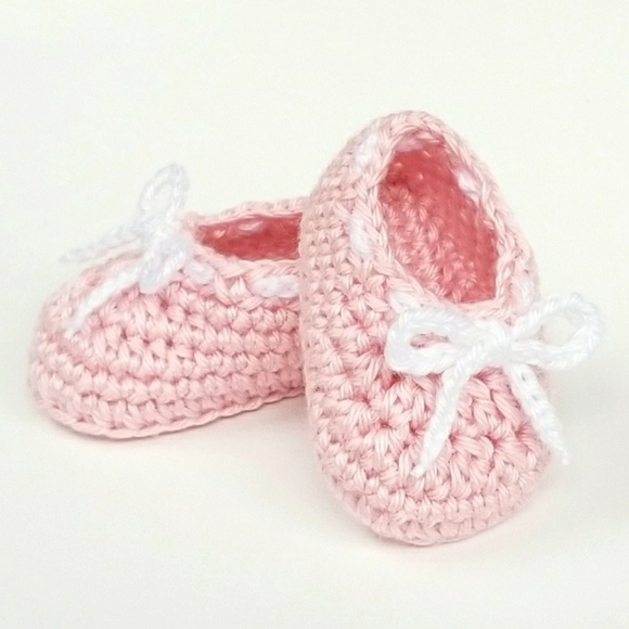 Royalcrownhandmade Shoes Baby Girl Booties Crochet Baby Poshmark